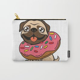 Pug & Donut Carry-All Pouch