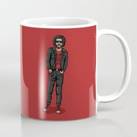 ali gulec Mugs featuring Ali Primera POP - TrincheraCreativa by Trinchera Creativa