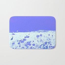 Ink Drop Blue Bath Mat