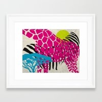 africa Framed Art Prints featuring africa by cla.sto