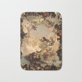Tiepolo Allegory of the Planets and Continents Bath Mat