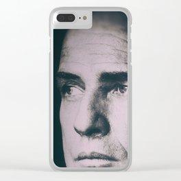 Apocalypse now, Marlon Brando, Vietnam war, alternative movie poster, cult film Clear iPhone Case