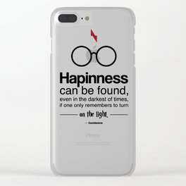 Words of Wisdom Clear iPhone Case