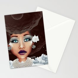 4 BELLA'S BEAUTY Stationery Cards