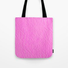 Leather Texture (Pink) Tote Bag