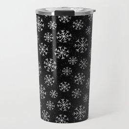 Silver Abstracts Travel Mug