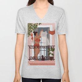 Laundry girl Unisex V-Neck