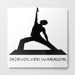 ® Evolved Warrior 2 Metal Print