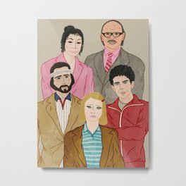 Royal Tenenbaums Metal Print
