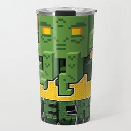 Minecraftian Travel Mug