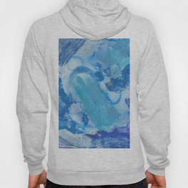The Blues Abstract Hoody
