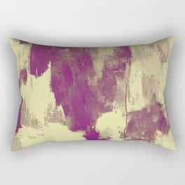 Textured Purple Rectangular Pillow