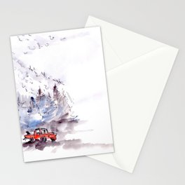 The Mountainside Stationery Cards