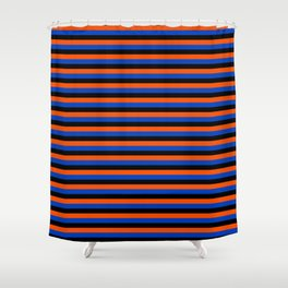 Color Stripe _001 Shower Curtain