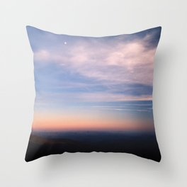 Moon Over Boone Throw Pillow