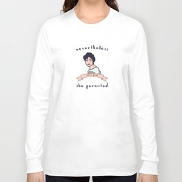 Nevertheless, Alice Paul Persisted Long Sleeve T-shirt