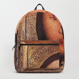 Master Bertram - Triptych of The Holy Face Backpack