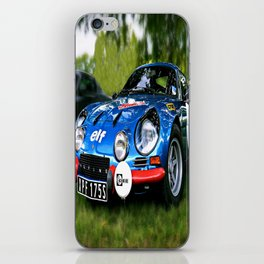 "The Alpine A110 ""Berlinette"" iPhone Skin"