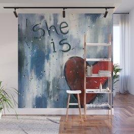 She is Love Wall Mural
