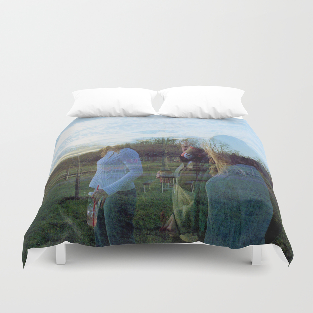 Shadow People Duvet Cover by Jillshoop DUV8499287