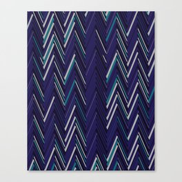 Abstract Chevron Canvas Print