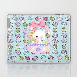 Easter Bunny Easter Basket Laptop & iPad Skin