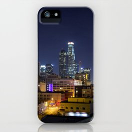 Photography in Downtown. iPhone Case