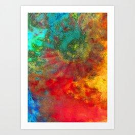 Duality - Vibrant Art Print