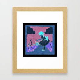 Mary Mary Quite Contrary Framed Art Print
