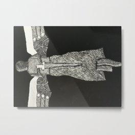 Clockwork Angel Metal Print