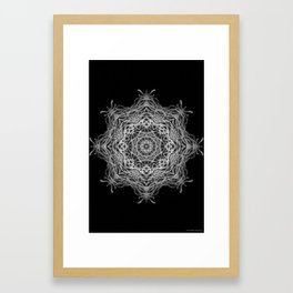 Black-and-White Abstract 8 Framed Art Print
