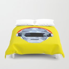Daft Low Poly Punk Duvet Cover