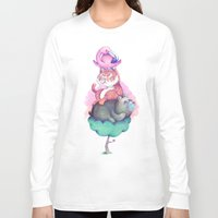 totem Long Sleeve T-shirts featuring Totem by Anna Cannuzz