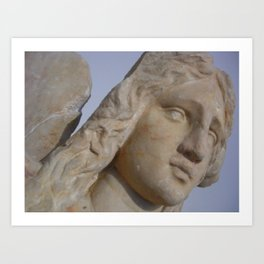 Angel 2.Greece. Art Print