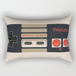 Retro Gamepad Rectangular Pillow