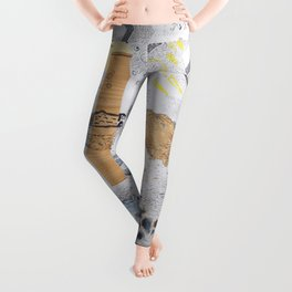 Shed light on the water crises Leggings