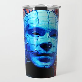 "Hellraiser Pinhead ""Angels to Some"" Travel Mug"