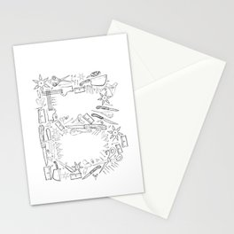 B Sharp Stationery Cards