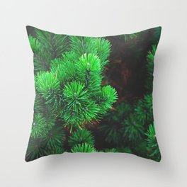 evergreen Throw Pillow