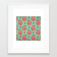 pastel Framed Art Prints featuring Pastel by Arcturus