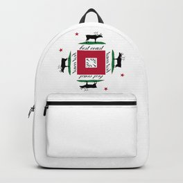 Best Coast By Avte Clothing. Backpack