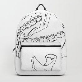 THE STRONGEST ( ONE LINE ART ) Backpack