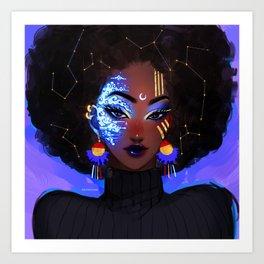 Celestial Art Print
