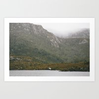 Boat Shed at Cradle Mountain Art Print