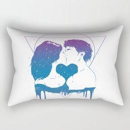 Cosmic love (color version) Rectangular Pillow
