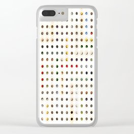247 Toilet Rolls 15 Clear iPhone Case