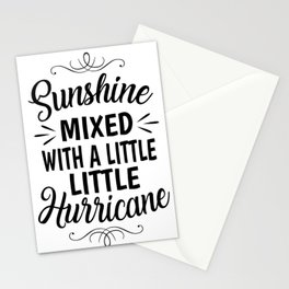 Cheerful Chaos life motivation funny gift Stationery Cards