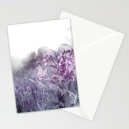 PINKY WILD FLOWER IN THE MOUNTAIN Stationery Cards
