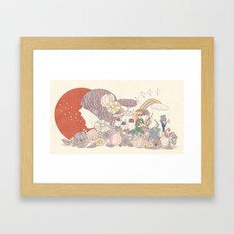 Sing for Japan Framed Art Print