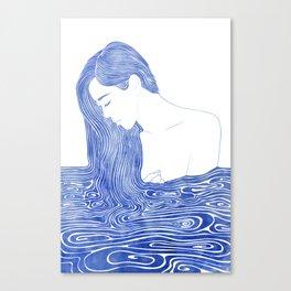 Nereid XLVII Canvas Print